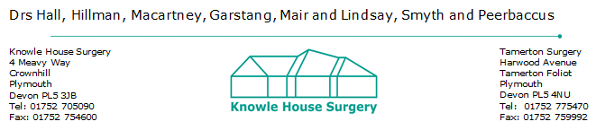 Knowle House Surgery Logo
